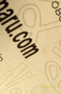 文字のデザイン