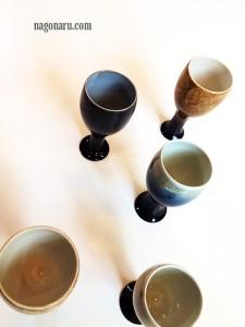 男ノ子焼のグラス