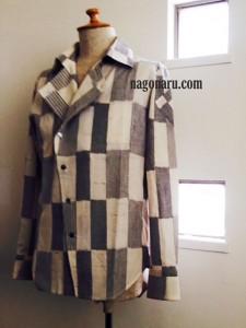 久留米絣のシャツ4