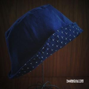 手織りハット8