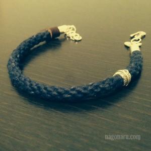 藍ブレスレット4