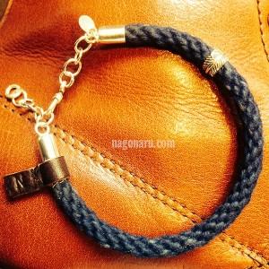 藍ブレスレット7